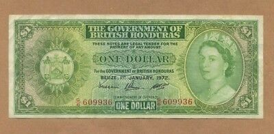 1972 - BRITISH HONDURAS - 1 Dollar (p-28c) - VF - CV:$75
