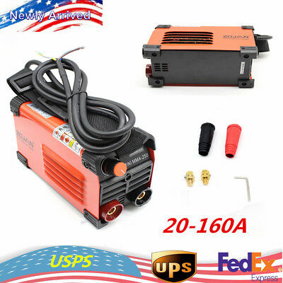 220V Mini Handheld Electric Welder Inverter ARC Welding Machine 20-160A Station!