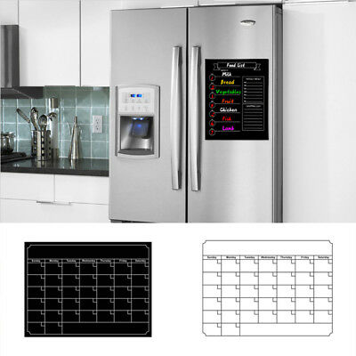 Magnetic Monthly Calendar Dry Erase, Large Multi-function White Board, Monthly