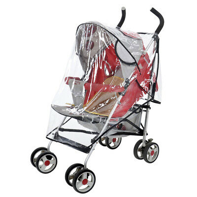 New Universal Toddler Baby Pram Stroller Rain Insect Weather Cover Brand d4d