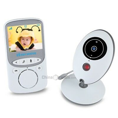 VB605 2.4GHz LCD Temperature Display Night Vision Wireless Baby Video Monitor