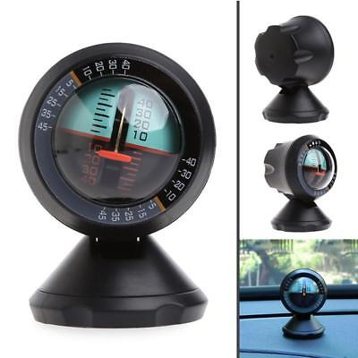 Car Inclinometer Tilt Gauge Indicator Gradient Balancer Slope Angle Level Meter