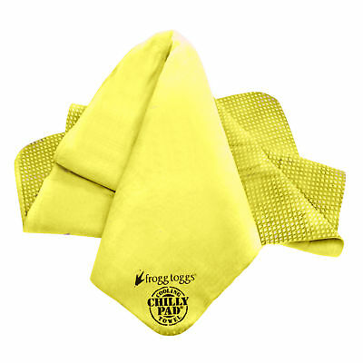 NEW Frogg Toggs Chilly Pad (Hi Vis Yellow) Reusable Cooling Towel ~ CP100-47