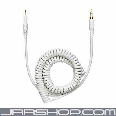 Audio Technica HP-CC-WH 1.2m-3m (3.9'-9.8') coiled (white) replacement cable for