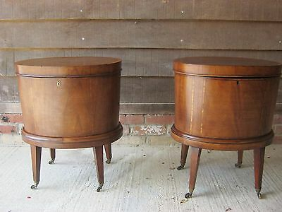 Very Rare Pair Of 19C  Gillows Cellarettes Free Delivery