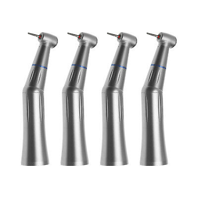 4PCS Dental Inner Water Push Contra Angle Handpiece fit High Speed FG 1.6mm Burs