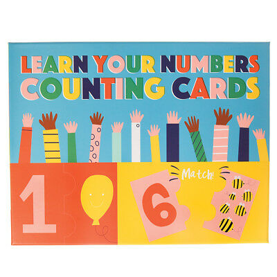 Rex London LEARN YOUR NUMBERS JIGSAW CARDS