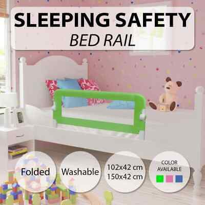vidaXL Toddler Safety Bed Rail Protective Gate 102x42cm/150x42cm Multi Colours