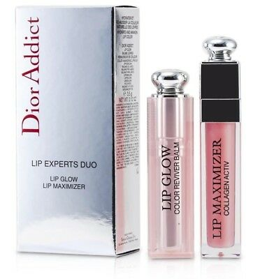 Christian Dior Addict Lip Glow Balm And Maximizer Collagen Experts Duo 001