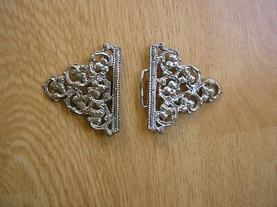 Silver Plated Nurses Belt Buckle