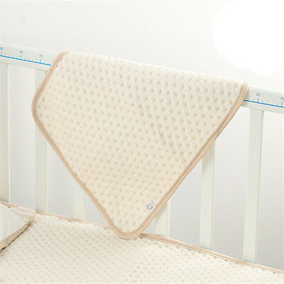 Incontinence Pads Washable Sheets Organic Baby Waterproof Bed Pad Reusable LT