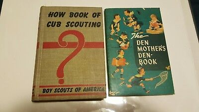 Books manuals boy scouts fraternal organizations historical 1950s vintage cub scouts bsa boy scouts handbook den mothers books lot of 2 fandeluxe Images