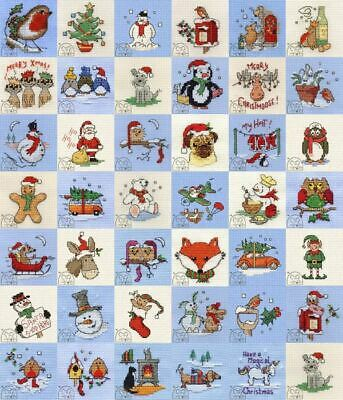 Mouseloft Christmas Stitchlets Collection Cross Stitch Kits With Card