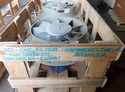 Howden North America Air to Air Fans GE Part No. 5GDY130A1 New / Unused OS