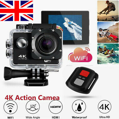 SJ9000 Ultra 4K 1080P Waterproof DVR Sports Camera WiFi Cam DV Action Camcorder.