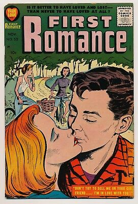 First Romance (1949) #52 VG Last issue in the series