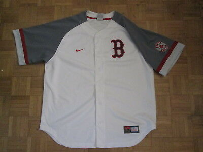 Vintage Nike MLB Boston Red Sox Jersey - Adult Size Large