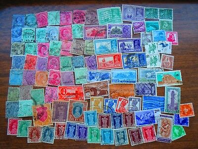 90  INDIA  STAMPS  (all eras)