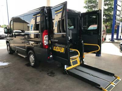 2014 Peugeot Boxer 2.2 HDi H1 110ps WHEELCHAIR ACCESSIBLE VEHICLE 5 door Whee...
