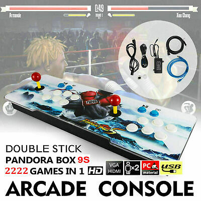 Pandora Box 9s 2222 in 1 Retro Video Games Double Stick Arcade Console