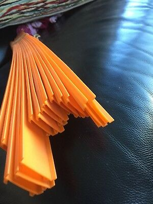 14 lengths of vintage 1960's Hot Wheels track- each length 24in