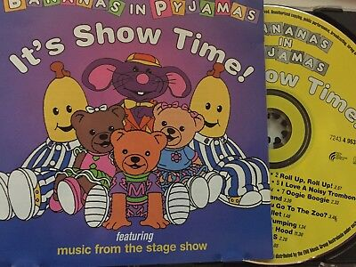 BANANAS IN PYJAMAS - It's Show Time CD 1998 ABC For Kids / EMI Excellent Cond!