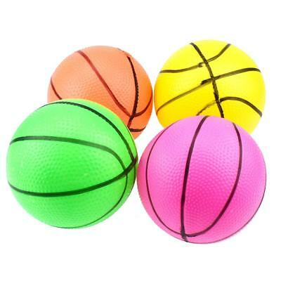 10cm Mini Inflatable Basketball Toys Outdoor Kids Hand Wrist Exercise Ball Toys