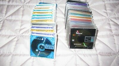 ++++++++++ 20 Mixed Used Minidisks Some 80 Minutes Some 74 Minutes  ++++++++++
