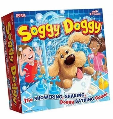 Soggy Doggy Ideal Water Bath Shower 2 to 4 Player Kids Family Board Dice Game 4+