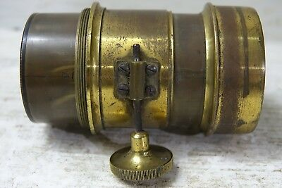Very Old Brass Camera Lense - Possibly Projector Lense - L@@k