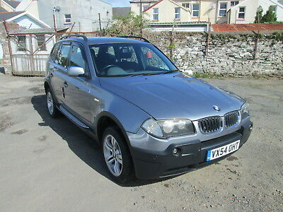 bmw x3 fitted with lpg 54 plate 2500 cc no reserve