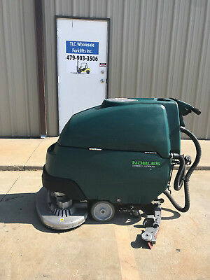 """Nobles SS 32"""" Walk Behind Scrubber - Very Nice - Only 1668 hours"""
