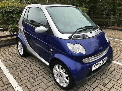Low Miles Smart Car Cabriolet Heated Seats  Service History Long Mot & Warranty