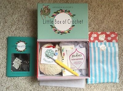 Little box Of Crochet ~ Winter Wonderland Party Cuffs