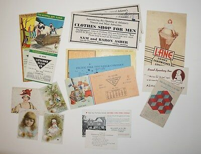The Mountain Boys and others Vintage Ink Blotters & Cards