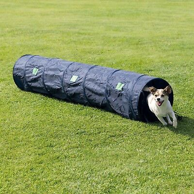 Dog Pet Agility Tunnel Exercise Equipment Training Tool 2 mtr x 40cm - Colour: