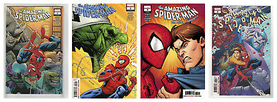 THE AMAZING SPIDER-MAN #1 2 3 & 4 (1st PRINT) Marvel 2018 NM- NM