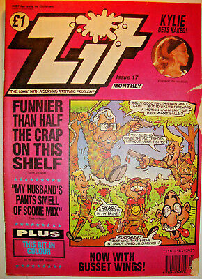 Zit Comic Issue 17 Counter Culture Humour Good Condition June 1992
