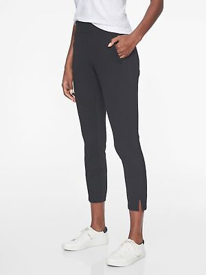 Athleta Metro Slouch Black Capri Pants $79 #438858 Nwt Sp S P Small Petite Buy Now Activewear Bottoms Activewear