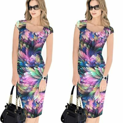 Office Wear Square Neck Sleeveless Casual Bodycon Dress for Women