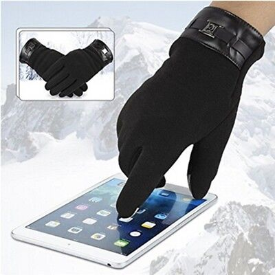 Men Touch Screen Gloves Texting Winter Mittens Cold Weather Gloves Driving Car