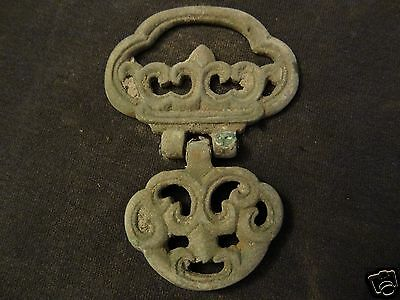 Antique Mongolian Copper Traditional Knife Accessory