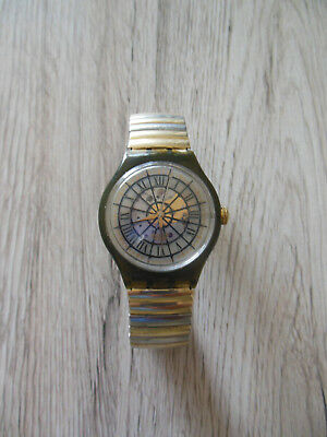 SWATCH AG 1993 Automatic 23 Jewels Swiss Made Vintage Flexband