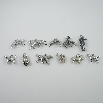 Animal Charms Vintage Sterling Silver | Lot of 11 | 28.4g