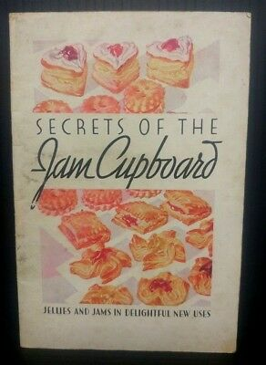 General Foods 1930 Secrets of the Jam Cupboard Recipe booklet Delightful New Use