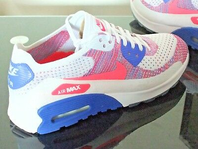 uk availability acf8d 3b03f Womens Nike Air Max 90 Ultra 2.0 Flyknit Trainers Uk Size 7 881109 103