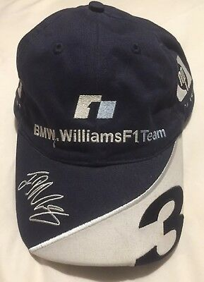 BMW WILLIAMS F1 Team Baseball Cap Juan Pablo Montoya - 2004 -  7.32 ... 89bee8fa74