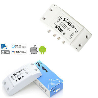 WiFi Wireless Smart Switch Module Sonoff Basic For IOS Android APP Control RD579
