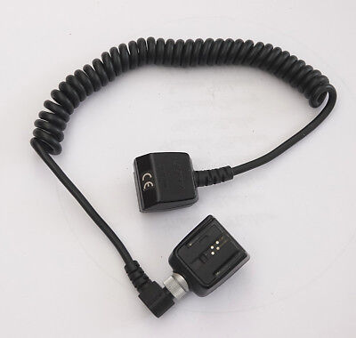 FA-CC1AM /OC-1100 flash cable with FA-CS1AM hotshoe for Minolta/Sony iSO flash