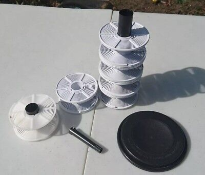 Patterson Super System 4 Spare Parts 6 Spirals lid and agitator